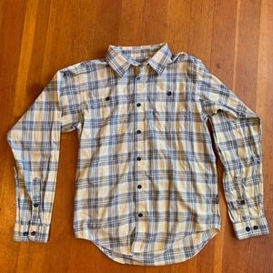 Mens S Patagonia L/S Lightweight Fjord Flannel